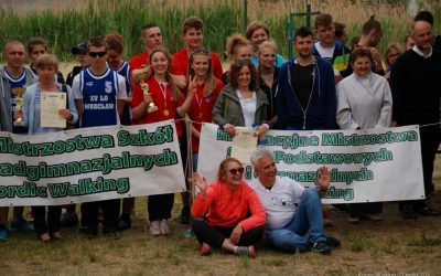 Mistrzostwa Nordic Walking Szkół Ponadgimnazjalnych