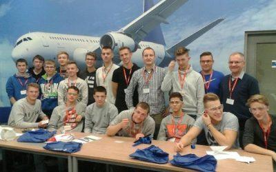 Zajęcia klasy patronackiej UTC Aerospace Systems