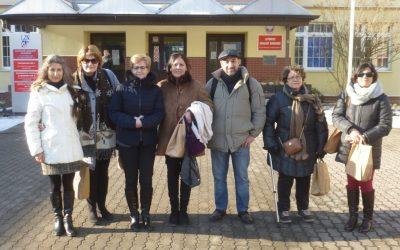 Wizyty grupy międzynarodowej w LZN