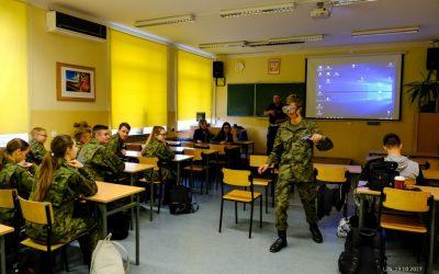Spotkanie z przedstawicielami wojska