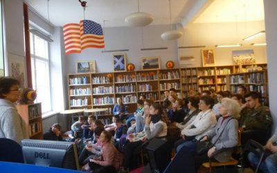 Z wizytą w bibliotece obcojęzycznej