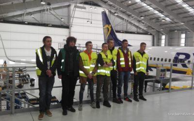 Wizyta w  Wroclaw Aircraft Maintenance Services