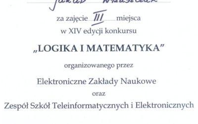 "Finał konkursu ""Logika i matematyka"""